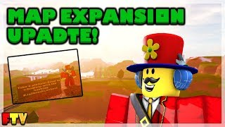 ROBLOX Jailbreak Map Expansion Update
