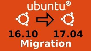 Migration d'Ubuntu 16.10 vers Ubuntu 17.04