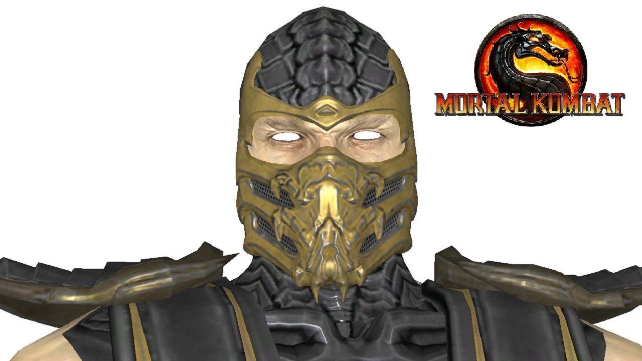 Mortal Kombat X: Injustice Scorpion 3D Model - YouTube