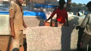 Man working in hot sun