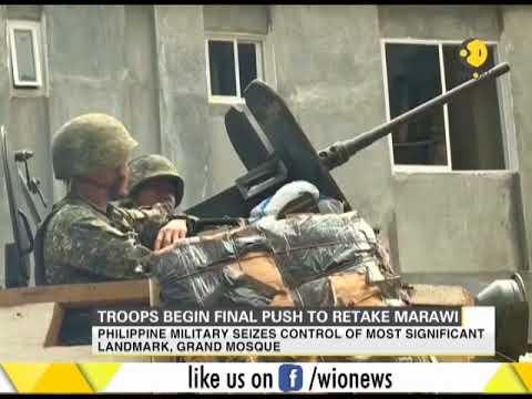 Philippines: Troops begin final push to retake Marawi