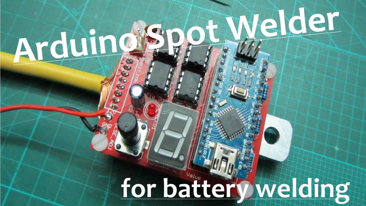 Diy arduino spot welder doovi