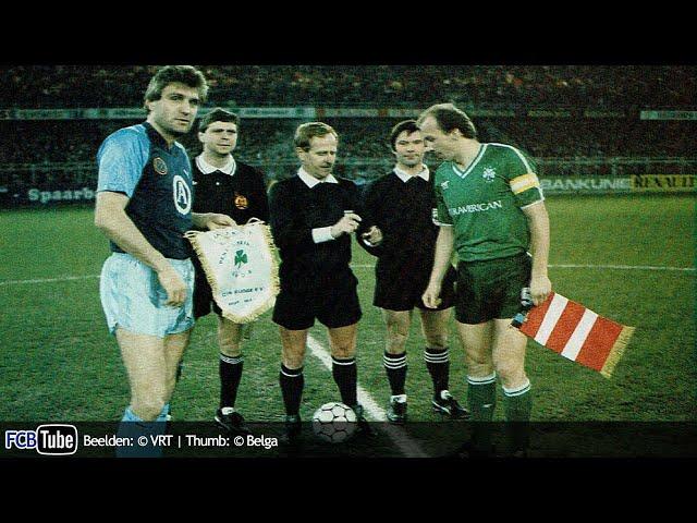 1987-1988 - UEFA-Cup - 08. Kwartfinale - Club Brugge - Panathinaikos 1-0