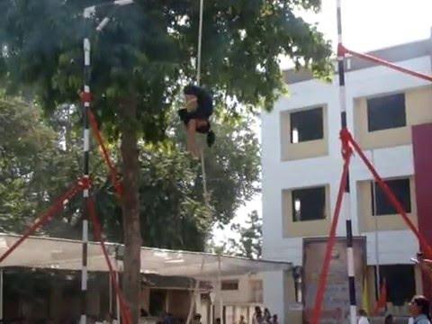 Rope Mallakhamb  Association  State level Vaishavi 2015