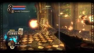 Bioshock 2 Remastered- Big Daddy Rumbler vs Big Sister