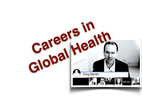 Careers in Global Health - a panel discussion
