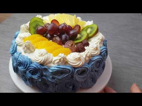 gâteau-d'anniversaire-aux-fruits