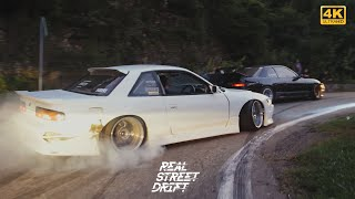 4K REAL STREET DRIFT SOCHI 2  / SILVIA S13 BMW E36 LAUREL C33 MARK 2 JZX100