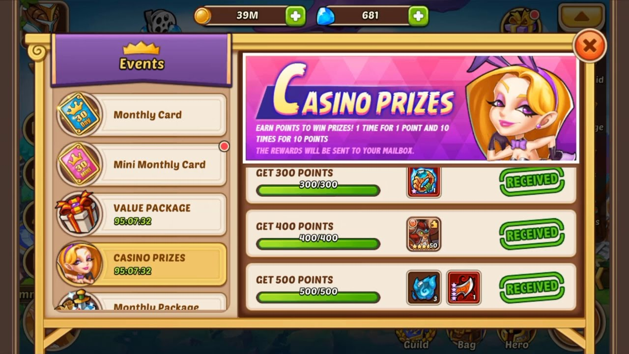 Casino Rewards Login