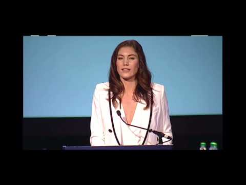 Hope Solo speech - YouTube