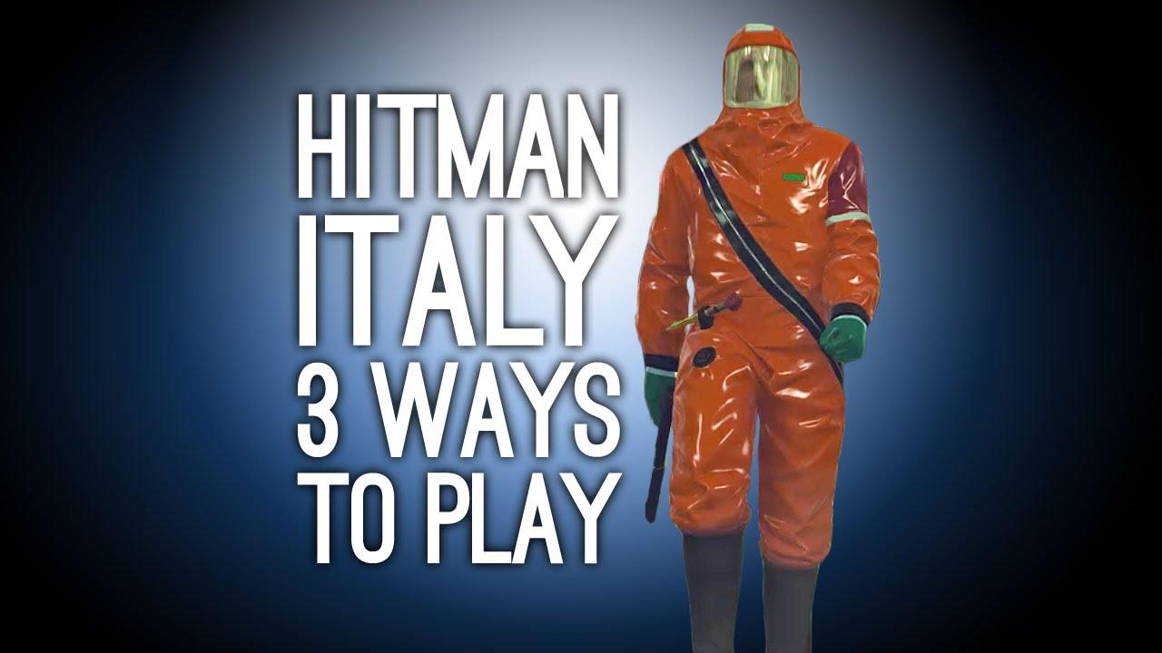 Hitman Gameplay Sapienza 3 Ways To Play Exploding Golf Ball Fake Ghost Poison Spaghetti Youtube
