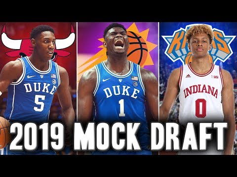 2019 NBA Mock Draft | Start Of The Season Edition