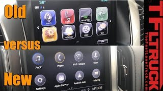 Old vs New: Chevy Truck Infotainment system - Which One Is Better?