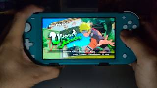 Naruto Ultimate Ninja Storm 3 Full Burst Nintendo Switch Lite Gameplay