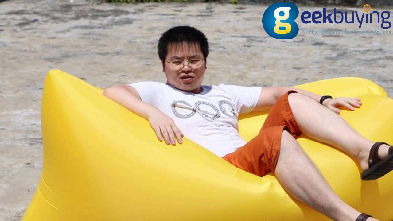 Надувной диван Портативный пляж Ленивый стул для Отдых на природе .