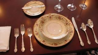 Betty's Quick Tip 86--an Example Of A Formal Place Setting