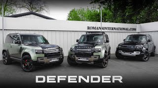 Which New Land Rover Defender Should You Buy?