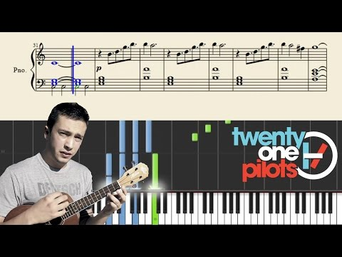 twenty one pilots: Cant Help Falling In Love PlaintivePiano  EASY Piano Tutorial