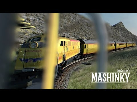 MASHINKY MOD - Union Pacific Express