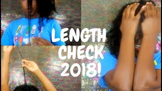 LENGTH CHECK 2018! FAST HAIR GROWTH (GETS EMOTIONAL)