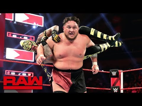 AJ Styles vs. Rey Mysterio vs. Samoa Joe: Raw, April 22, 2019
