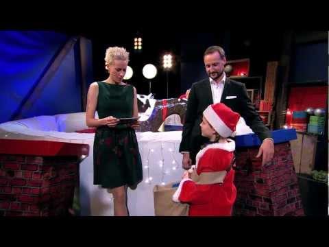 Kronprinsen og Prinsesse Ingrid Alexandra besøker Julemorgen
