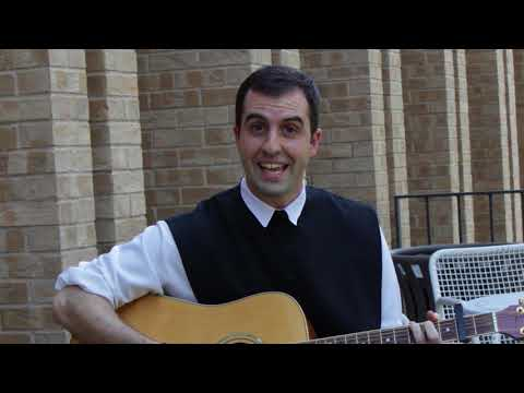 Father Esposito sings what he would do with a million dollars