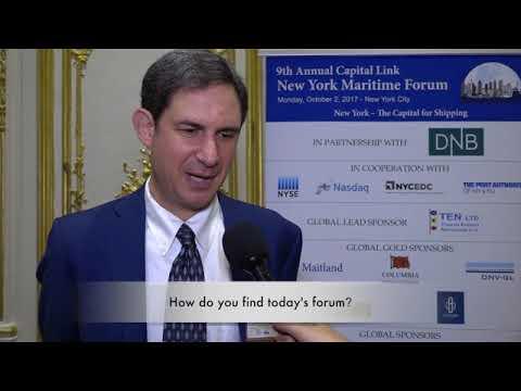 2017 9th Annual New York Maritime Forum - Mr. Andrew Genn Interview