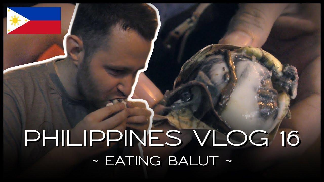 Eating Balut - PHILIPPINES VLOG 16 - YouTube