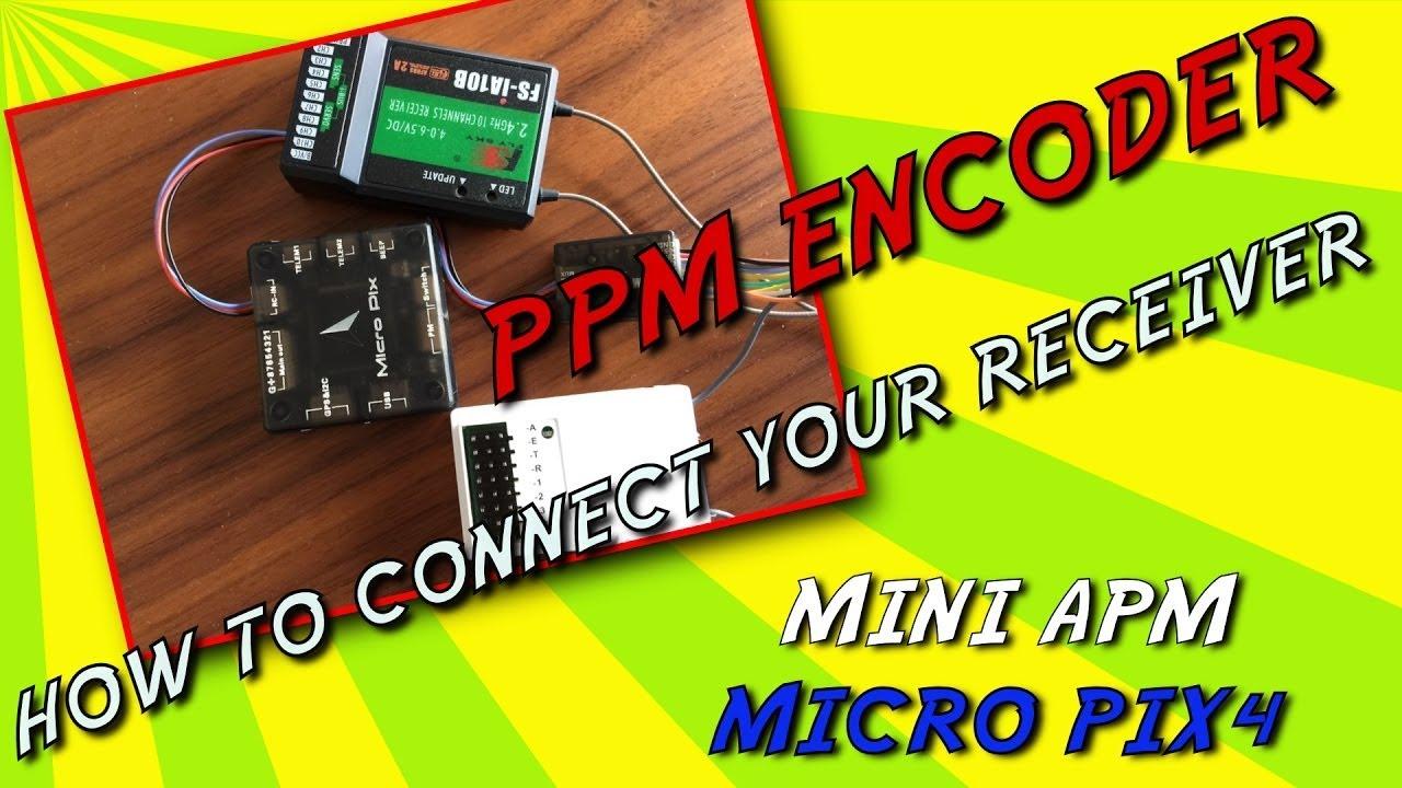 Mini Apm Micro Pix4 Pixfalcon Come Collegare Il Ppm Encoder Wiring How To Connect The