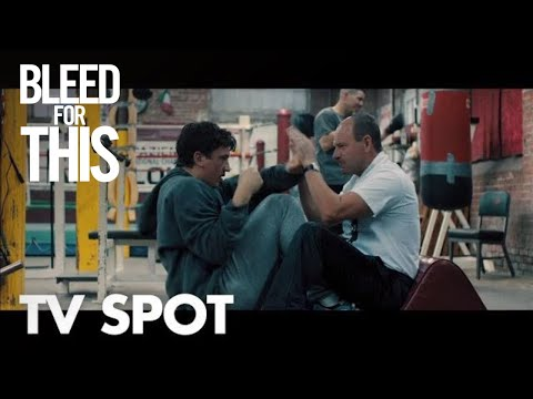BLEED FOR THIS -  Fearless TV Spot - In Theaters November 18