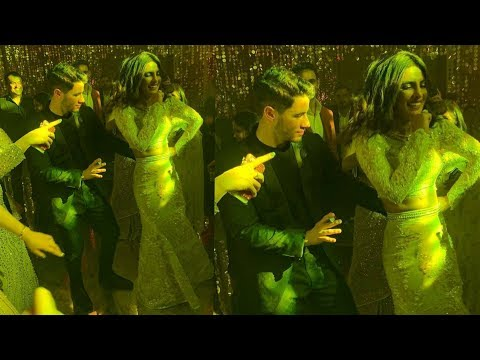 Priyanka Chopra and Nick Jonas look stunning dancing together at Bollywood Music