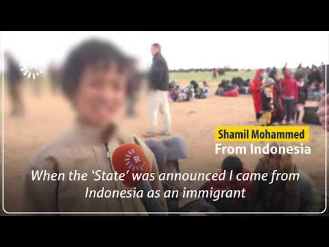 Indonesian children among those fleeing with ISIS in Baghouz