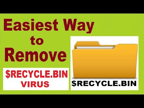 How to Remove $RECYCLE.BIN Virus Folder 2017 [SOLVED]