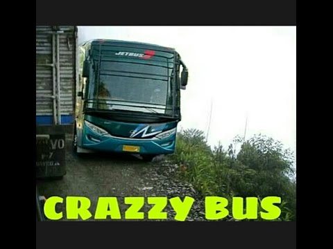 THE CRAZZY BUS DRIVE IN ACEH INDONESIA. Aceh Bus Mania (ABM)