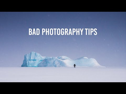 9 Photography Tips you should IGNORE!
