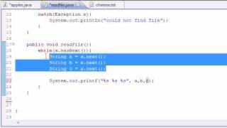 Java Programming Tutorial - 81 - Reading from Files