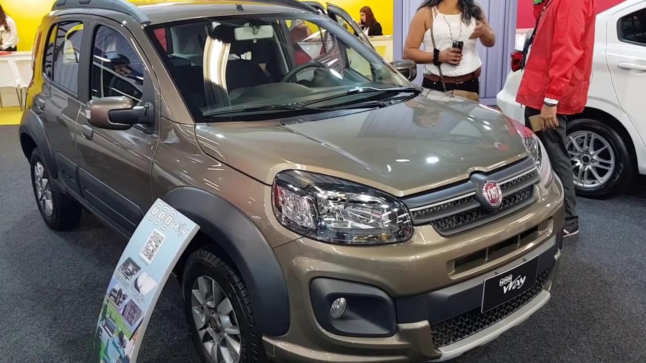 Fiat Uno Way 2019 Youtube