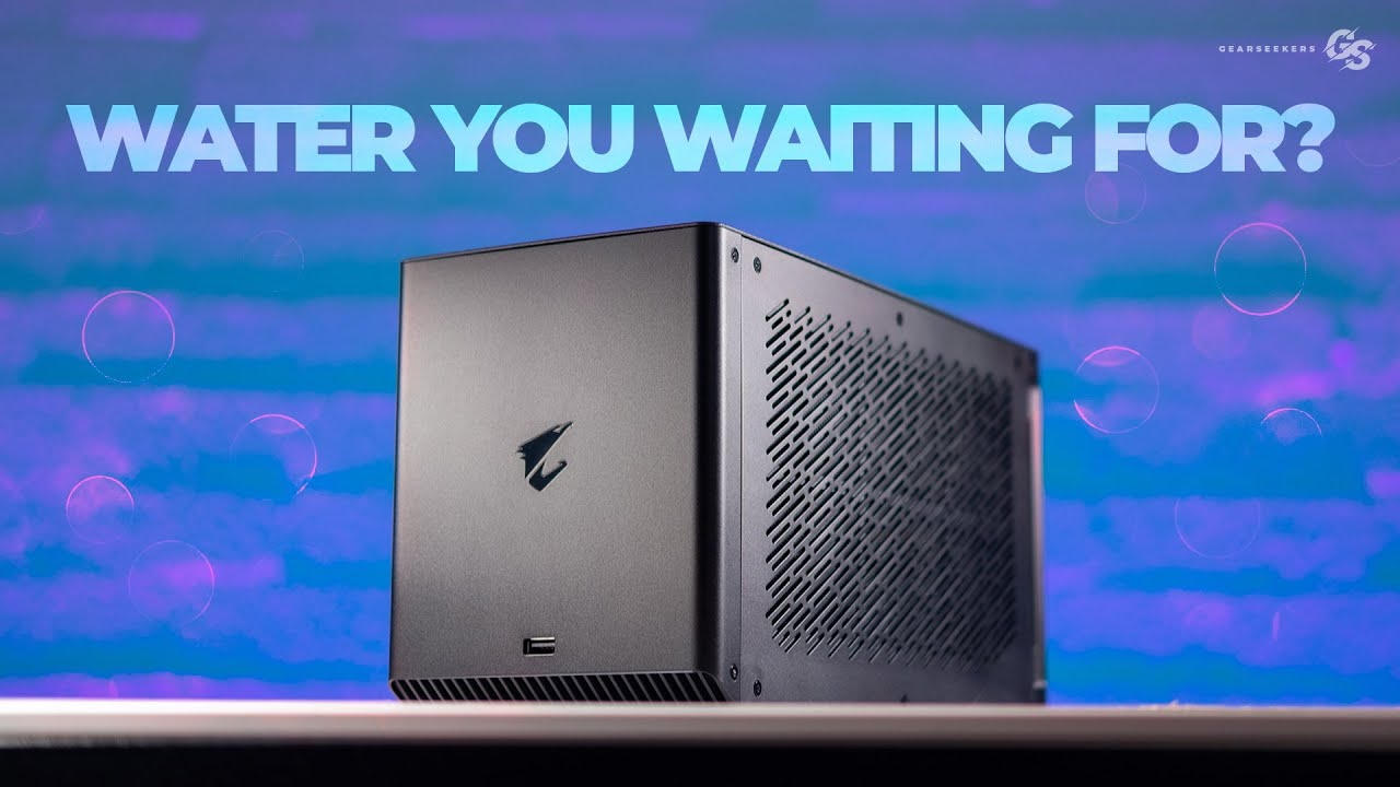 AORUS RTX 2080 Ti Gaming Box: The Water Cooled eGPU BENCHMARKED!