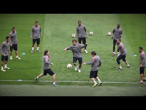 FC Barcelona AMAZING Tiki-Taka Skills