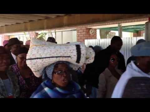 Botswana Traditional Wedding Procession