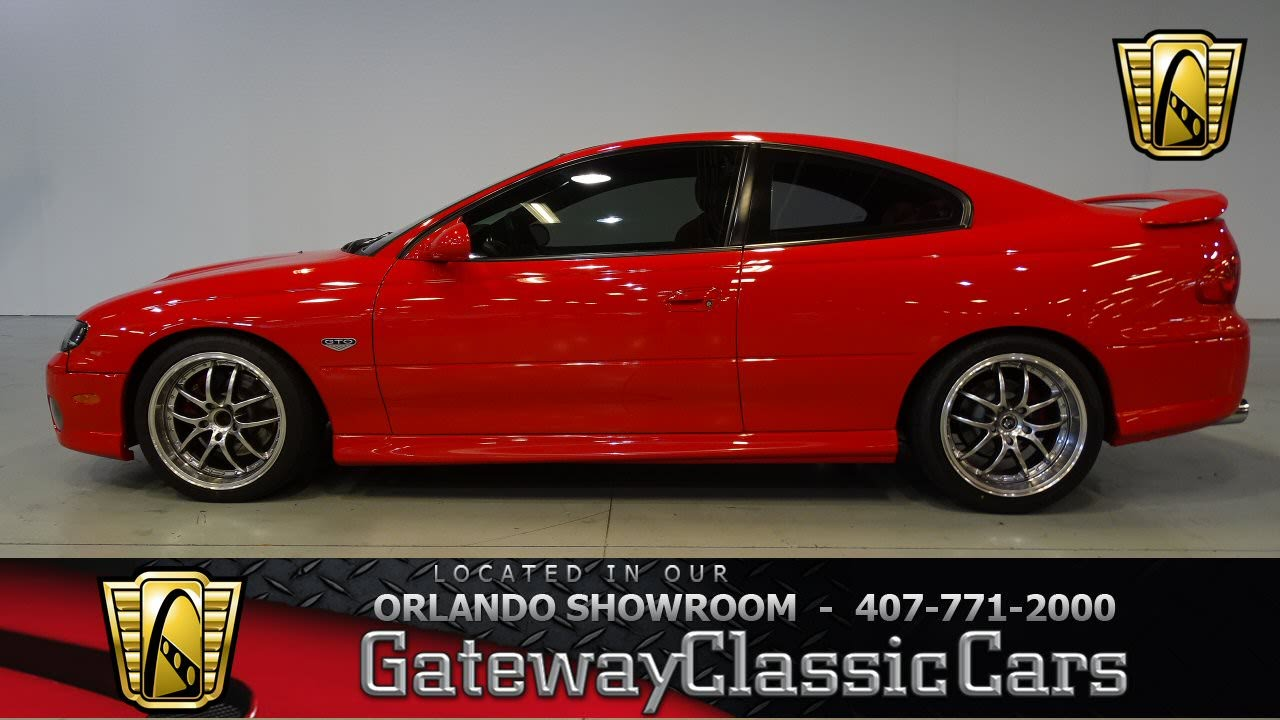 Cars For Sale In Orlando >> 2005 Pontiac GTO Gateway Classic Cars Orlando stock 487 ...