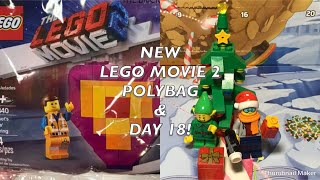 LEGO NEWS: ANOTHER LEGO MOVIE 2 POLYBAG & DAY 18!