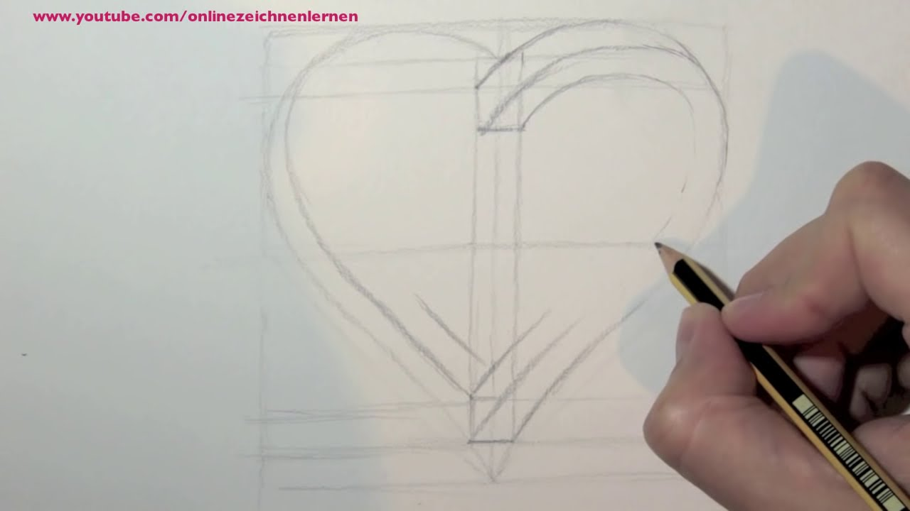 herz schön zeichnen