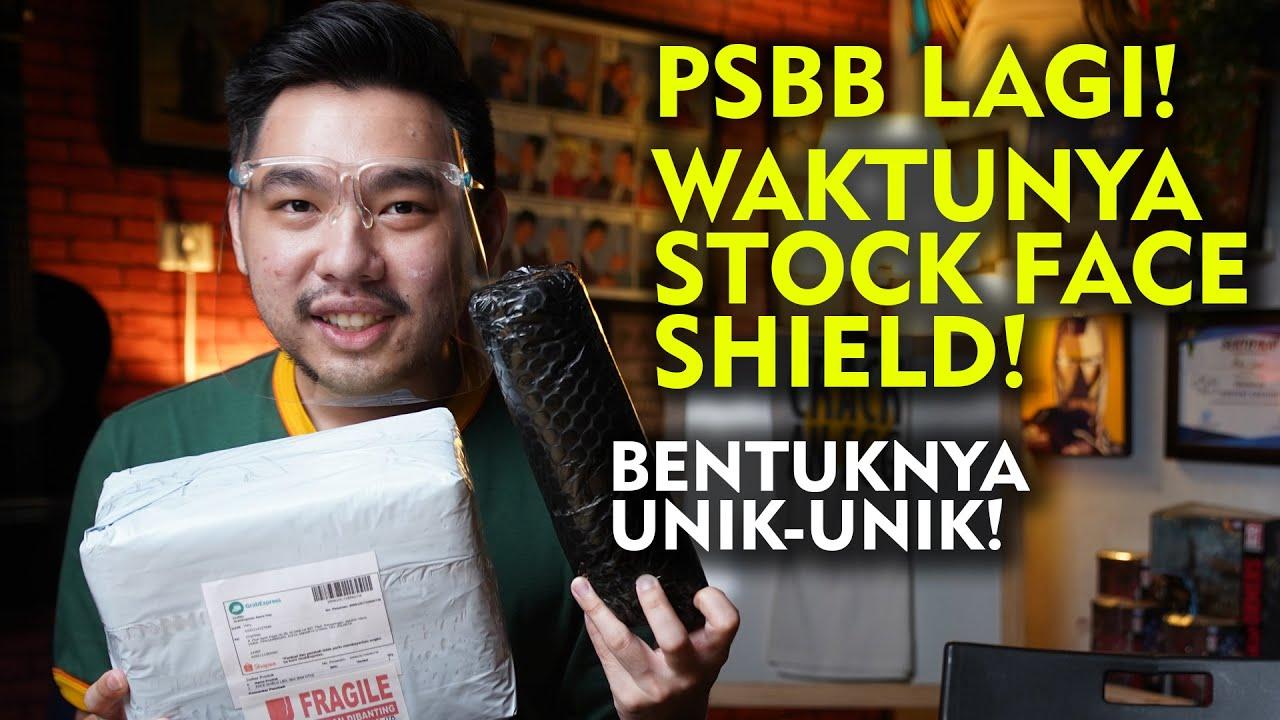 LO HARUS PUNYA FACE SHIELD INI UNTUK PSBB JILID 2!
