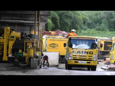 Laing's Sandblasting & Painting Co. Ltd. Donate to Sangre Grande Disaster - December 2, 2016