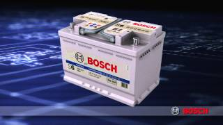 Аккумуляторы Bosch(Инновационные технологии в производстве аккумуляторов Bosch. Полный ассортимент батарей для легкового, груз..., 2013-05-06T19:32:48.000Z)