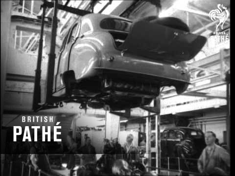Austin Car Plant In Action (1951)