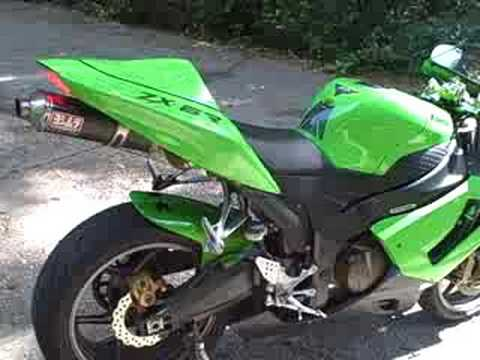 2005 Kawasaki ZX6R - YouTube