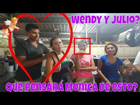 Julio acariciando a Wendy?😱 como son las cosas🤔 Pasta Linguini con Mariscos. Parte 12